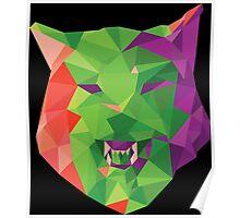 Geo-Wolf Poster