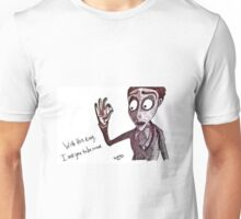 "Pandora Fox Art Corpse Bride ""With this Ring""  Unisex T-Shirt"