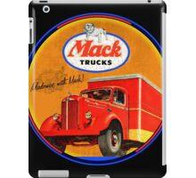 Vintage Mac Trucks iPad Case/Skin