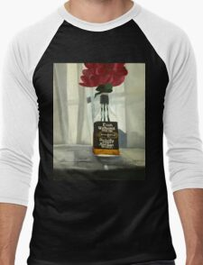 """Gambino"" 16""x20"" acrylic painting Men's Baseball ¾ T-Shirt"