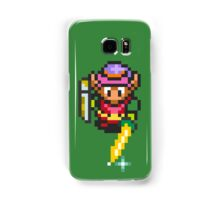 Link charging the Master Sword Samsung Galaxy Case/Skin