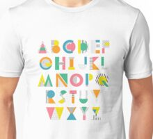 ABC alphabet Unisex T-Shirt