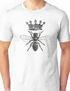 Queen Bee | Black and White Unisex T-Shirt