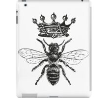Queen Bee | Black & White iPad Case/Skin