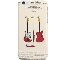 Guitar Patent - Color iPhone Case/Skin