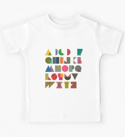 ABC alphabet FOR KIDS Kids Tee