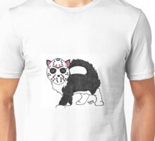 Pandora Fox Art Friday the 13th Jason Vorhees Horror Cat Collect Them All! :D  Unisex T-Shirt