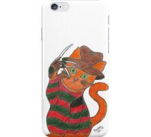 Pandora Fox Art Nightmare on Elm Street Freddy Krueger Horror Cat Collect Them All! :D  iPhone Case/Skin