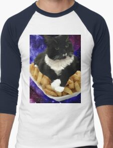 pebbles the cat Men's Baseball ¾ T-Shirt