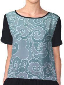 Wind and Wave Chiffon Top