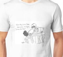 """Pandora Fox Art Corpse Bride """"Dying to Come Down Here""""  Unisex T-Shirt"""