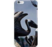 Pelicans in Flight iPhone Case/Skin