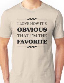 Favorite Sibling Humor Unisex T-Shirt