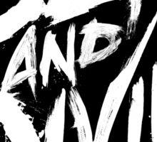 Dead & Divine Logo Sticker