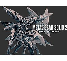 Metal Gear Solid 2 Photographic Print