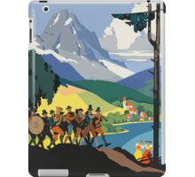 Austria Vintage Travel Poster iPad Case/Skin