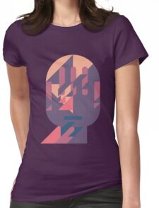 Microphone Womens Fitted T-Shirt