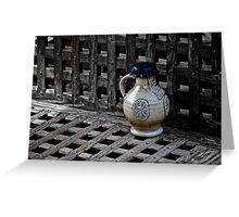 Ceramic Jug Greeting Card