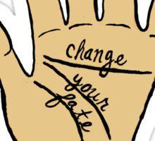 Change Your Fate - Pale Hand Sticker