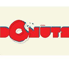 Donuts Photographic Print