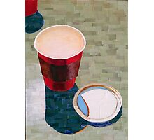 """Empty cup"" Photographic Print"