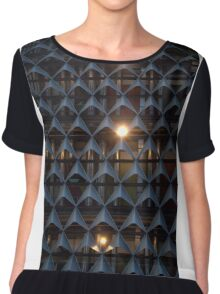 A New Constellation In The Night Sky Chiffon Top