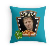 Heinz Sean Bean Throw Pillow