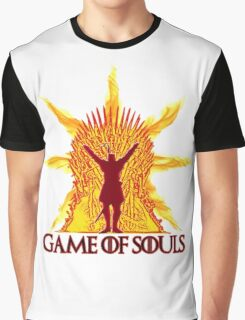 Game of Souls-flame Graphic T-Shirt