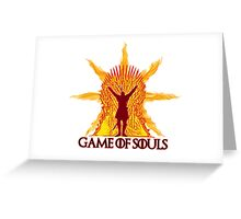 Game of Souls-flame Greeting Card