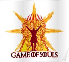 Game of Souls-flame Poster