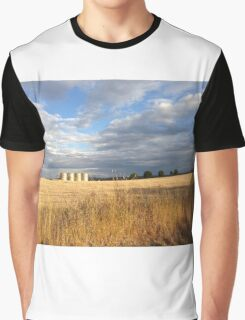 Wheat Silos  Graphic T-Shirt