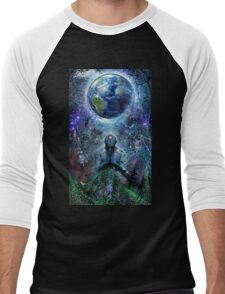 Gratitude For The Earth And Sky, 2015 Men's Baseball ¾ T-Shirt