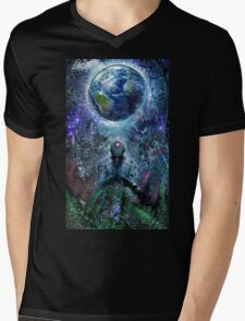 Gratitude For The Earth And Sky, 2015 Mens V-Neck T-Shirt