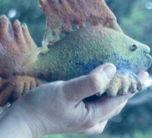Blue fish Sticker