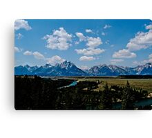 Land of Giants Canvas Print