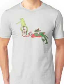 DAT BOI WRECKS PEPE Unisex T-Shirt