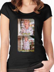 Buffy's Yummy Sushi Pyjamas  Women's Fitted Scoop T-Shirt