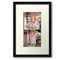 Buffy's Yummy Sushi Pyjamas  Framed Print
