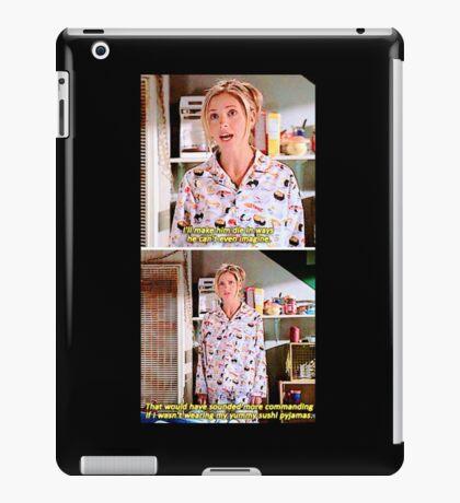 Buffy's Yummy Sushi Pyjamas  iPad Case/Skin