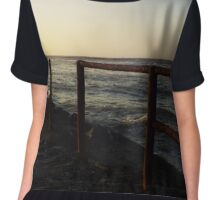 Over The old Jetty Chiffon Top