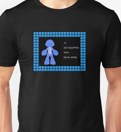 Mega Man Spinal Fusion - Get Equipped With Unisex T-Shirt