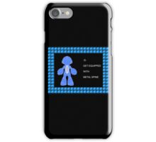 Mega Man Spinal Fusion - Get Equipped With iPhone Case/Skin