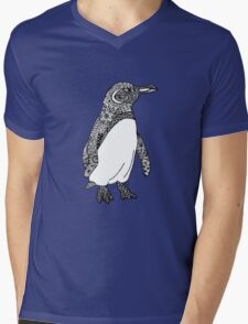 GALAPAGOS PENGUIN Mens V-Neck T-Shirt