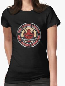New Jersey Dueling Devils Womens Fitted T-Shirt