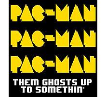 PACMAN/Jumpman White Photographic Print