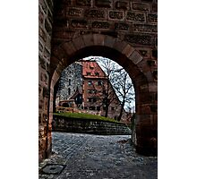 Courtyard Entry Photographic Print