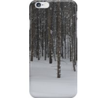 Trees in Snow iPhone Case/Skin