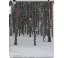 Trees in Snow iPad Case/Skin