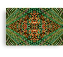 Korean Pagoda Kaleidoscope Canvas Print
