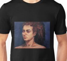 Portrait of Natalie Unisex T-Shirt